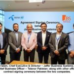 JBS ties knot with Telenor Pakistan