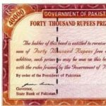 Rs40,000 Bearer Prize Bonds Allowed Conversion up to March 31