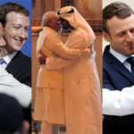 See Indian Prime Minister Narendra Modi's Famous 'Bear Hugs' in Action with Trump as well