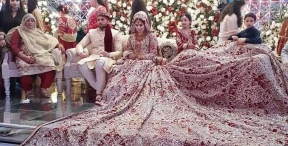 pak bride 100 kg dress