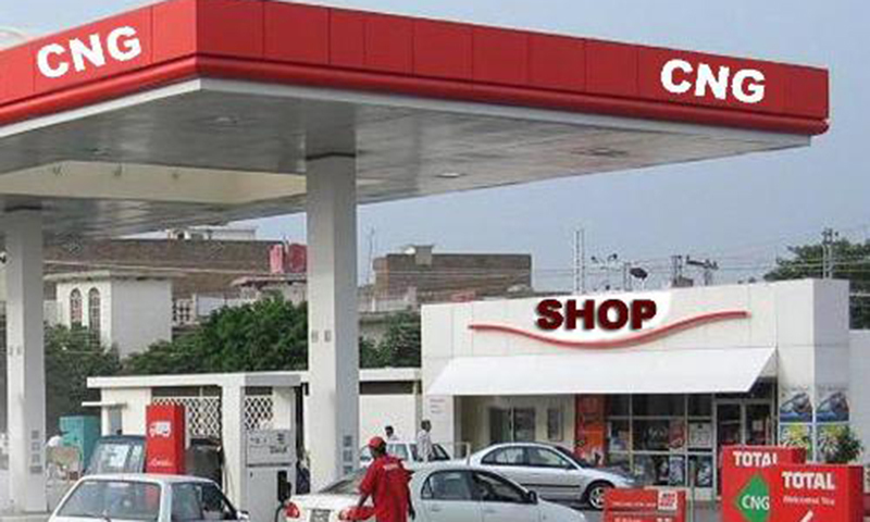 CNG supply open 17 feb