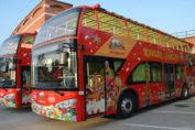 double decker bus in pak