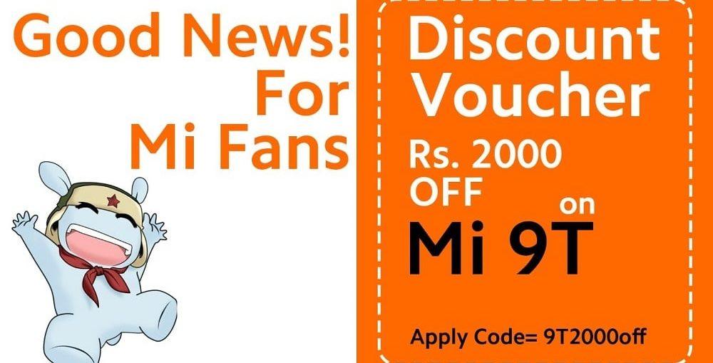 XIOMAI MI 9T discount