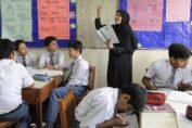 female teacher ban in boys school