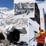Huawei Installs The World's Highest 5G Tower on Mount Everest Using Yaks