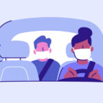 Wear Mask While Driving Car Or Pay Online Fine