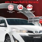 Toyota Pakistan Offers Exciting Warranty Packages