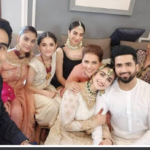 Sarah Khan and Falak Shabir First Ever Wedding Photoshoot Coverved by Zainab Chottani [ Photoes+Videos]