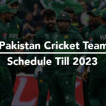 Here's Pakistan Cricket Team Schedule For Next 3 Years