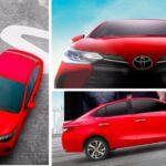Toyota Yaris Facelift (Honda City Rival) Teased, Debut Tomorrow