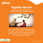 Ufone Joins Hands with Khana Ghar to Provide Relief to Flood Affected Communities in Karachi
