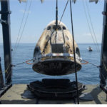 Watch SpaceX's Crew Dragon Capsule Ferry NASA Astronauts Back to Earth