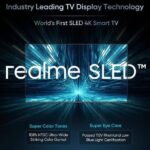 Realme Announces the World's First SLED Smart TV