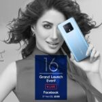 Catch the Live Launch of TECNO's Pioneer Photography Phone Camon 16 on 3rd November