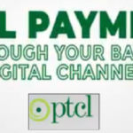 How To Pay PTCL Bill Through Digital Banking