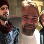 Engin Altan Duzyatan aka Ertugrul Lands in Pakistan on Short Visit