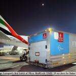 Emirates SkyCargo Transports First Batch of Pfizer-BioNTech COVID-19 Vaccines