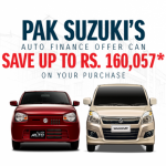 Pak Suzuki Makes Car Financing Easy